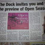 Opening of the Dock Open Session