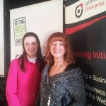 Launch Getting Business on line Dec 2011 with Geraldine McMinanine