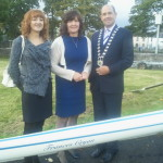Launch of Olympian Frances Cryan Boat June 2012