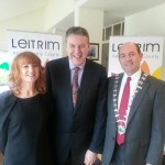 With RTE's Ciaran Mullooly launching the Leitrim Age Friendly Initiative