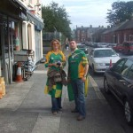 Supporting Leitrim Football