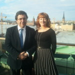 Representing Ireland at Council of Europe with Guilherme-Pinto Portugal Feb 2012