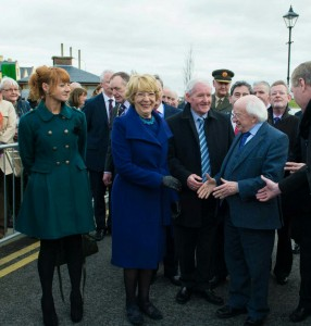 With President Higgins 1