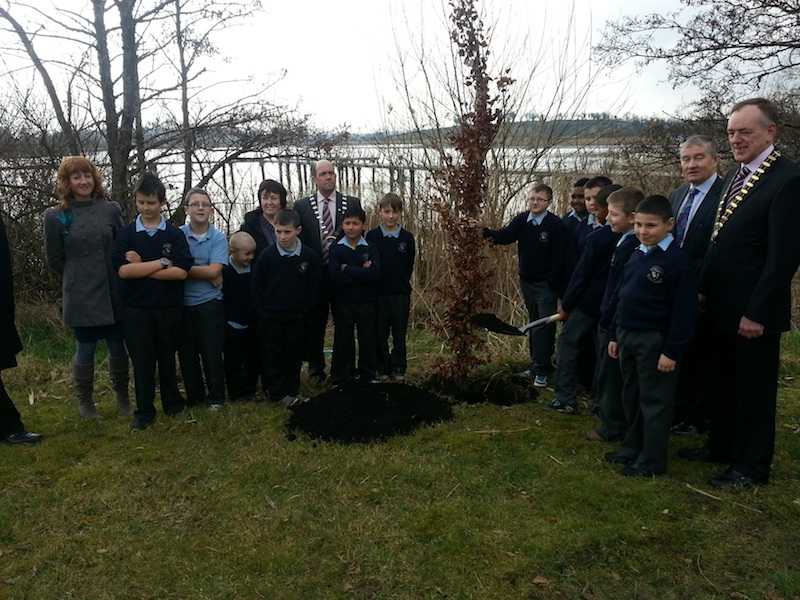 Carrick 400 Tree Planting Cermony